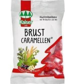 Kaiser Brust Caramellen Με 15 Βότανα Και Έλαια 60gr