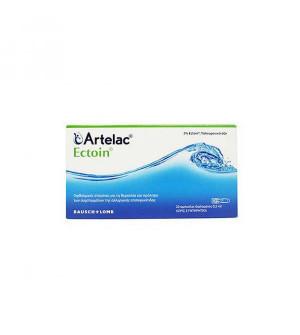 Bausch & Lomb Artelac Ectoin Οφθαλμικές Σταγόνες 20 αμπούλες διαλύματος x 0.5ml (Μονοδόσεις)