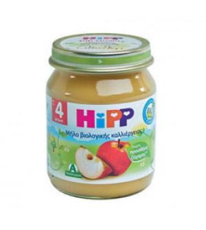 Hipp φρουτοκρεμα μήλο  4m+ Βιολογικής καλλιέργειας  125gr
