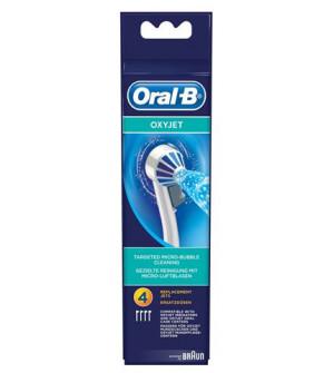 Oral-B Nozzle Oxyjet Ανταλλακτικά Ακροφύσια, για τις συσκευές Oxyjet, 4 τμχ