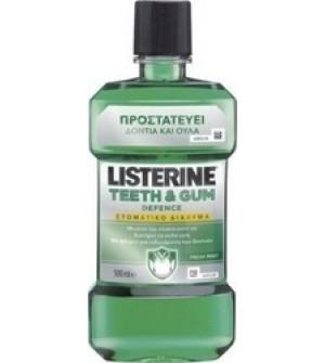 Listerine Teeth & Gum Defence Στοματικό Διάλυμα 250ml