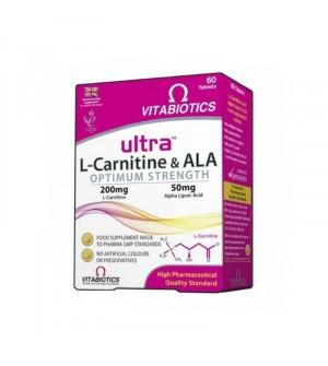 Vitabiotics Ultra L Carnitine & ALA 60 tabs