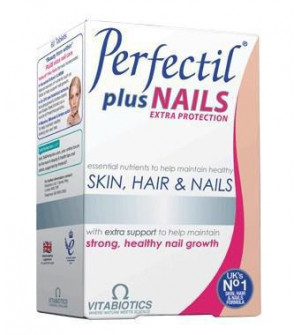 Vitabiotics Perfectil Plus Nails Extra Support 60tabs