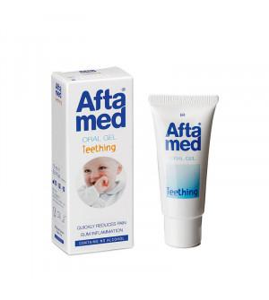 Curaprox Aftamed Teething Gel Τζελ για την ανακούφιση από την Πρώτη Οδοντοφυΐα 15ml