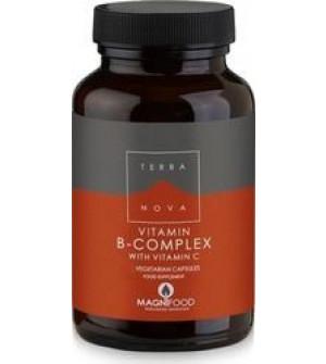 Terranova B-Complex with Vitamin C 100caps