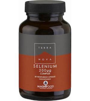 Terranova Selenium Complex 200mg 50 veg tabs