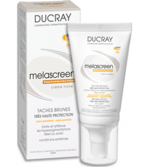 Ducray Sun Melascreen Face SPF 50 Creme Riche 40ml