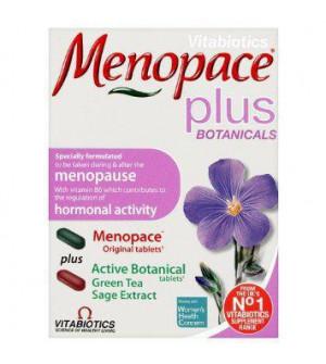 Vitabiotics Menopace Plus Botanicals 56Tabs
