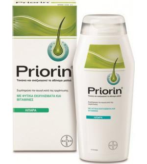 Priorin Σαμπουάν 200ml για Λιπαρά μαλλιά