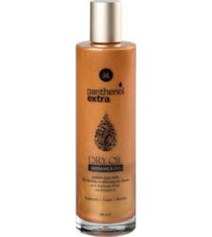 Panthenol Extra Shimmering Dry Oil Ιριδίζον Λάδι για Πρόσωπο & Σώμα 100ml