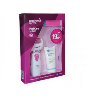 Panthenol Extra redicare system MS Ηλεκτρική Λίμα Ποδιών, Feet Cream (60ml) & MS Λίμα Νυχιών & Buffer 7in1