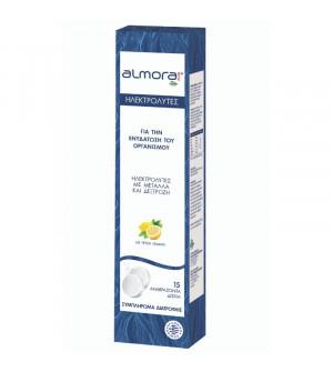 Elpen Almora Plus Ηλεκτρολύτες για την Ενυδάτωση του Οργανισμού με Γεύση Λεμόνι 15Eff.tabs