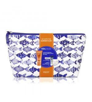 Vichy PROMO Go With The Summer Flow με Ideal Soleil SPF50+ Anti Spot Αντιηλιακή Προσώπου Kατά των Κηλίδων με Χρώμα, 50ml & ΔΩΡΟ Aqualia Thermale Gel-Cream, 15ml & Mineral 89, 4ml