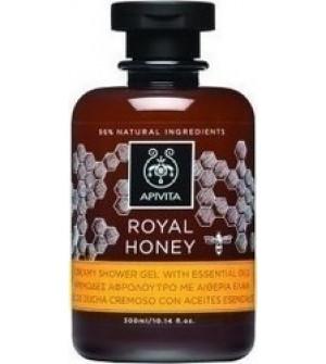 Apivita Μινιατούρα Royal Honey Κρεμώδες Αφρόλουτρο Ξηρή Eπιδερμίδα 75ml