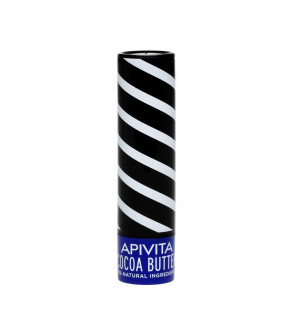 Apivita Lip Care Cocoa Butter SPF20 4,4gr
