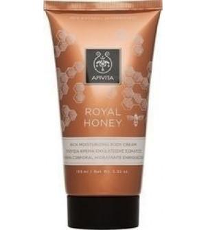 Apivita Royal Honey Πλούσια Κρέμα Ενυδάτωσης Σώματος, 150ml