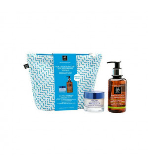 Apivita Νεσεσερ Ολιστική Ενυδάτωση Aqua Vita 50ml & Purifying Gel για Κανονικό-Λιπαρό Δέρμα 200ml