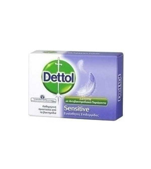 Dettol Σαπούνι Sensitive με Αντιβακτηριδιακό Παράγοντα 100g
