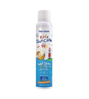 Frezyderm Kids SunCare Παιδικό Αντιηλιακό SPF50+ Wet Skin Spray 200ml