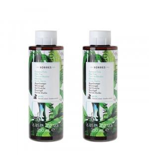 Korres Αφρόλουτρο Πράσινο Τσάι 250ml & Δώρο 250ml