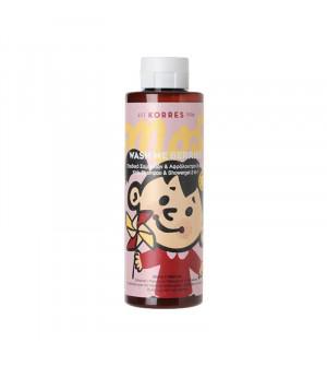 Korres Wash Me Berries Παιδικό Σαμπουάν & Αφρόλουτρο 2 σε 1 για Κορίτσια 250ml
