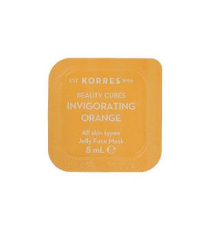 Korres Beauty Cubes Gel Μάσκα Προσώπου Αναζωογόνησης με Πορτοκάλι 8ml