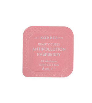 Korres Beauty Cubes Gel Μάσκα Προσώπου κατά των Ρύπων με Rasberry 8ml