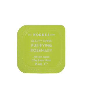Korres Beauty Cubes Clay Mask προσώπου με Δεδρολίβανο 8ml