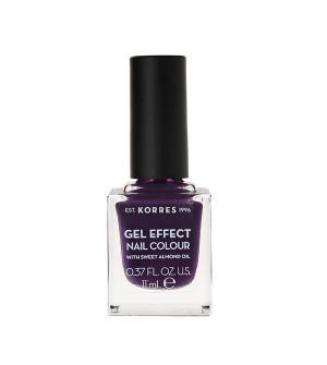 Korres Gel Effect Βερνίκι Νυχιών Violet Garden No75 11ml