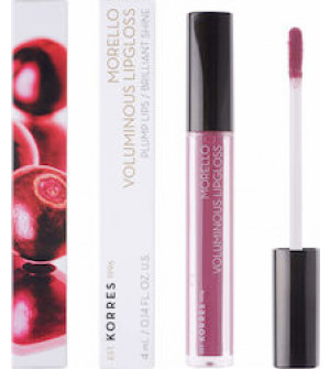 Korres Morello Voluminous Lipgloss Plump Lips No27 Berry Purple 4ml