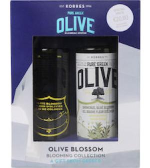 Korres Gift Set Olive Blossom Showergel 250ml & Olive Blossom Eau de Cologne 100ml