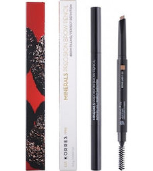 Korres Minerals Precision Brow Pencil 03 Light Shade Μολύβι Φρυδιών