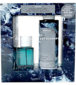 Korres Eau de Toilette Water Cedar Lime 50ml & Αφρόλουτρο Cedar Lime 250 ml