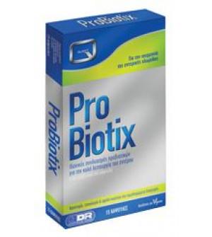 Quest Probiotix Προβιοτικό Συμπλήρωμα Διατροφής 15 Κάψουλες