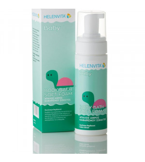 Helenvita Baby Body Bath Soft Foam, Απαλός Αφρός Καθαρισμού Σώματος 150ml