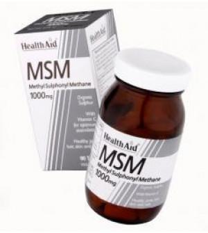 Health Aid Msm 1000Mg+Vitc 90Tabs