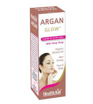 Health Aid Argan Glow For Face & Body 60ml