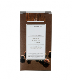 Korres Argan Oil Advanced Colorant N6.3 Ξανθο Σκουρο Μελι Promo 50ml