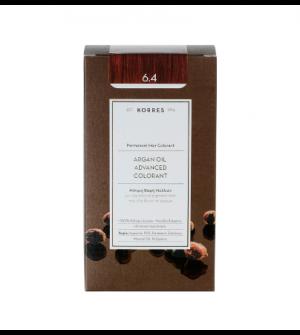 Korres Argan Oil Advanced Colorant N6.4 Ξανθο Σκουρο Χαλκινο Promo 50ml