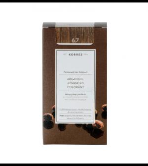 Korres Argan Oil Advanced Colorant N6.7 Κακαο Promo 50ml