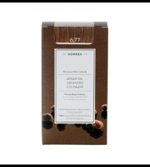 Korres Argan Oil Advanced Colorant N6.77 Πραλινα Promo 50ml