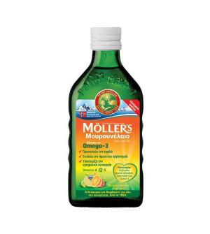 Moller's Μουρουνέλαιο Με Γεύση Tutti frutti 250ml