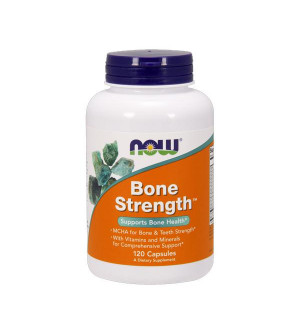 Now Bone Strength, w/ Calcium (MCHA Formula), 120 caps