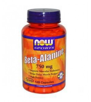 Now Foods - Beta Alanine 750mg 120caps