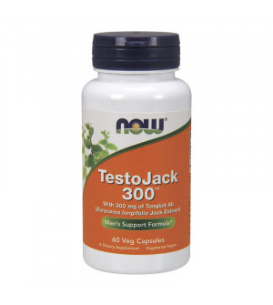 Now Testo Jack 300mg with standarized Long Jack 60caps
