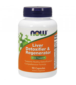 Nowfoods liver detoxifier & regenerator 90caps για το συκώτι