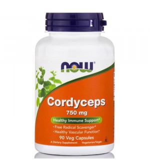 Now Cordyceps 750mg 90VegCaps