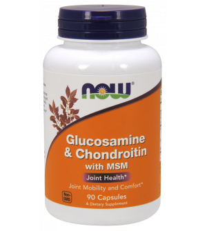 Now Foods Glucosamine & Chondroitin with MSM 90 κάψουλες