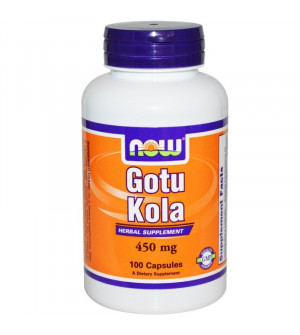 Now Gotu Kola 450mg 100caps