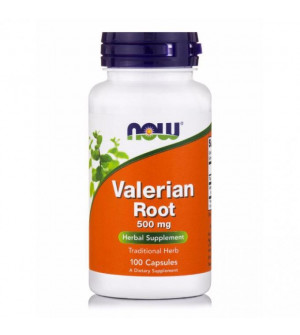 Now Valerian Root 500mg100caps